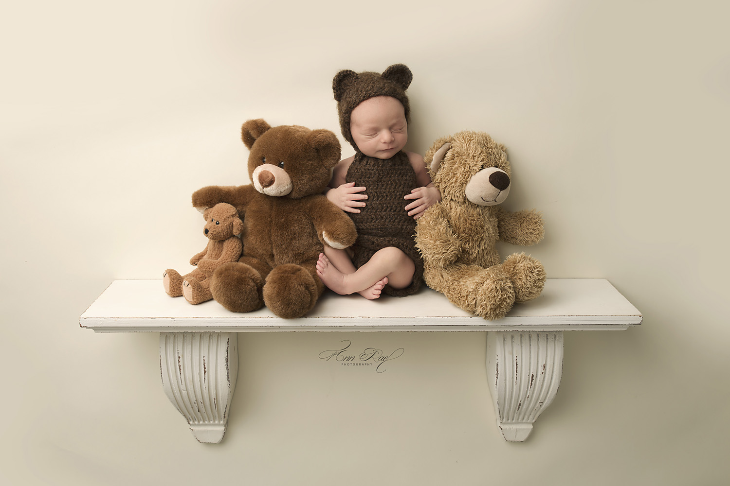 St. Louis Newborn Teddy Bear Photography Session