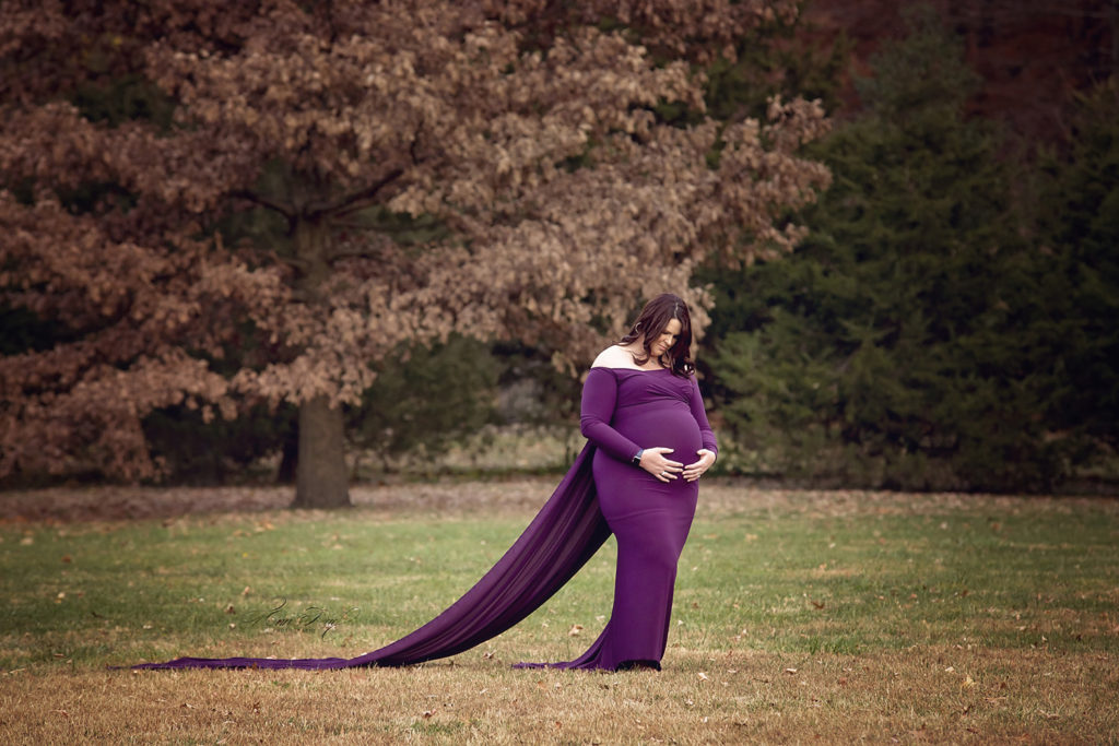 St. Louis MO Styled Maternity Session at Tower Grove Park