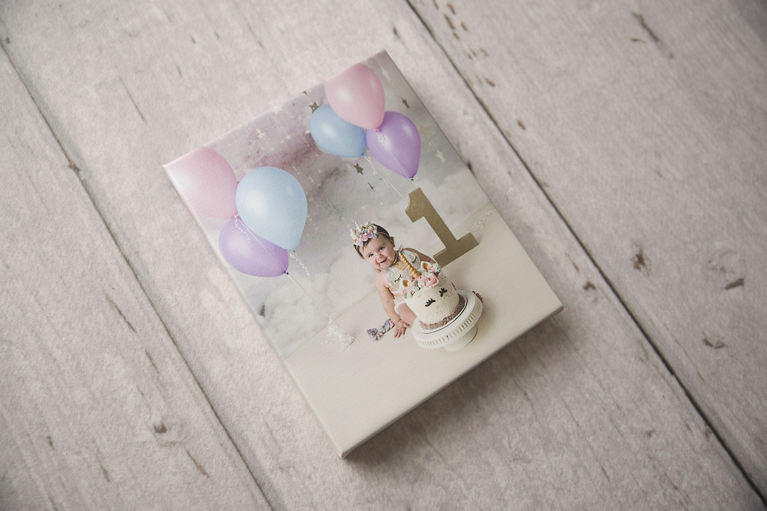 Order your Heirloom Canvas print From St. Louis Newborn Photographer