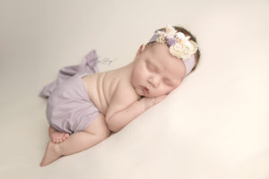STL Newborn Session Pictures with squishy rolls
